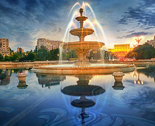 Bucharest panoramic city tour