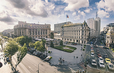 Romanian traditional desserts and Bucharest walking tour