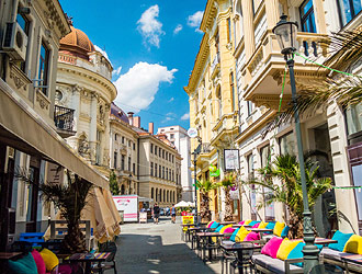 Bucharest Old Town tour and traditional lunch