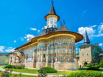 Painted monasteries of Bucovina, and Transylvania tour