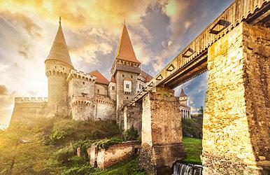 Corvin (Hunyadi) Castle in Transylvania