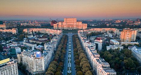 The fall of communism Bucharest tour