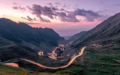 On the road: Transfagarasan tour