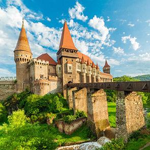 Corvin Hunyadi Castle Transylvania
