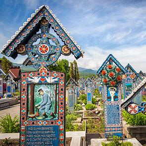 Sapanta the Merry Cemetery Maramures