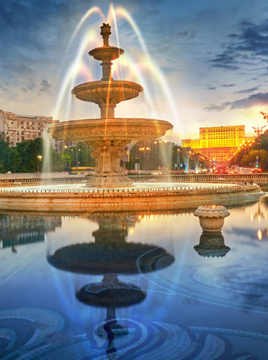 Bucharest at a glance tour by car